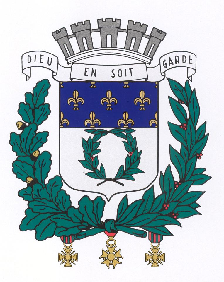 Blason couleur Reims
